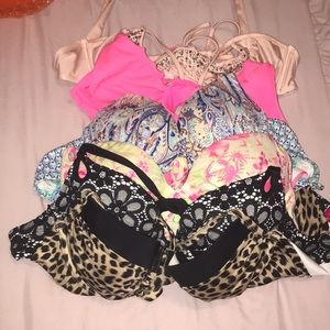 Lot of 7 Victoria's Secret Swim tops
